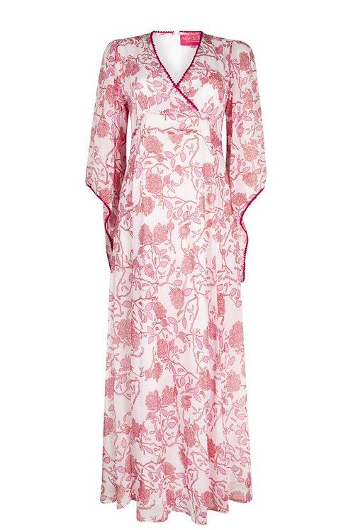 Kopie von Place du Soleil  Kleid Zipfelärmel
