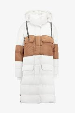 10 DAYS panel down jacket winter white, GR 1