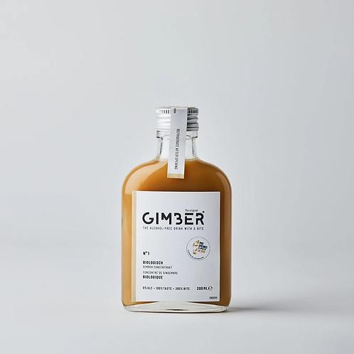 GIMBER 200ml, Konzentrat aus Bio-Ingwer, Zitrone, Kräutern und Gewürzen.