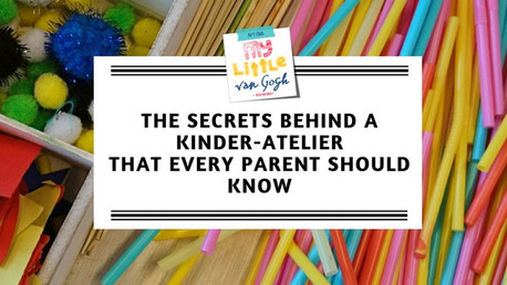 Kinder atelier, a creative experience