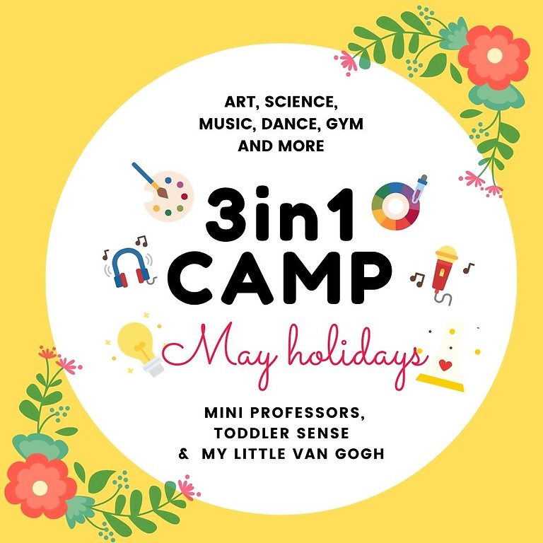 Single Tickets May Camp 2021 (Wednesday 5 and Friday 7 May)