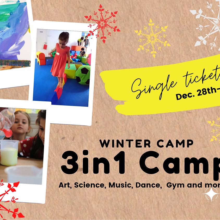 Single Tickets Winter Camp 2020  WEEK 2