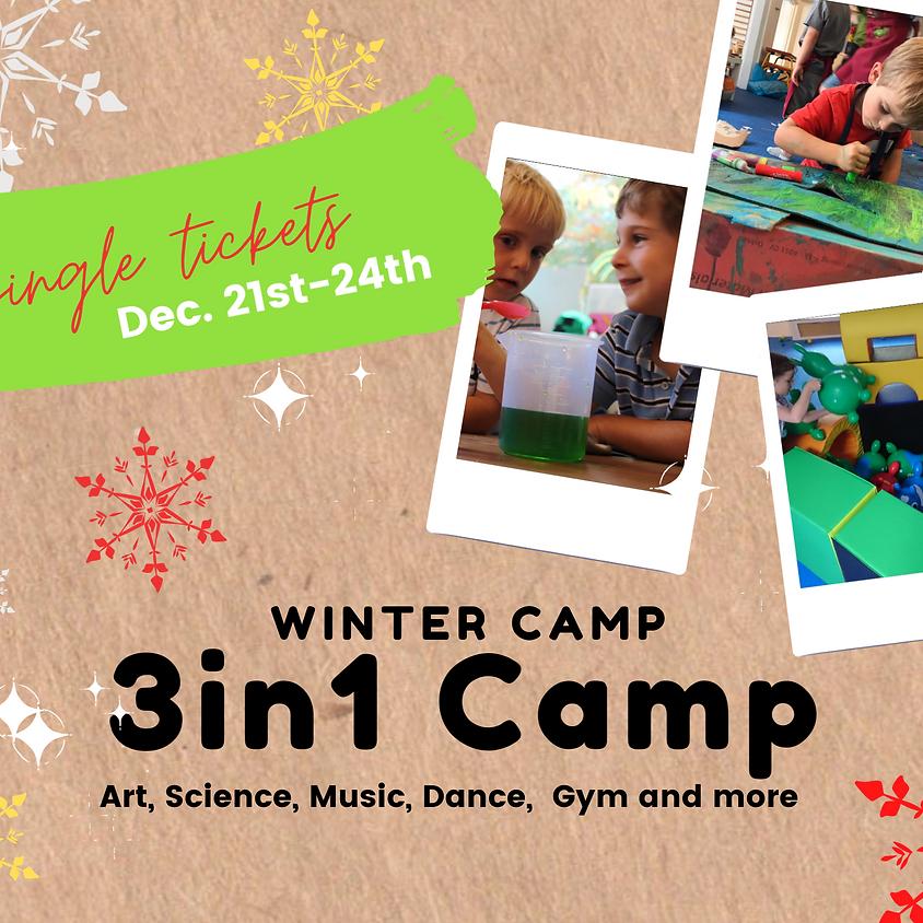Single Tickets Winter Camp 2020  WEEK 1