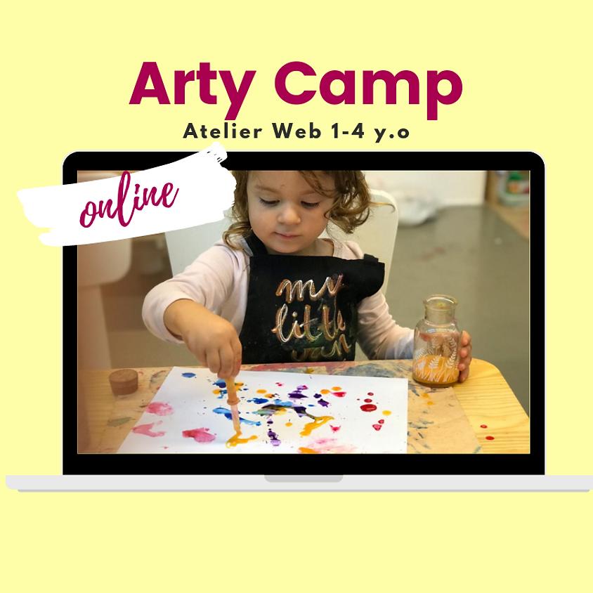 Arty Camp Online (1 a 4 años)