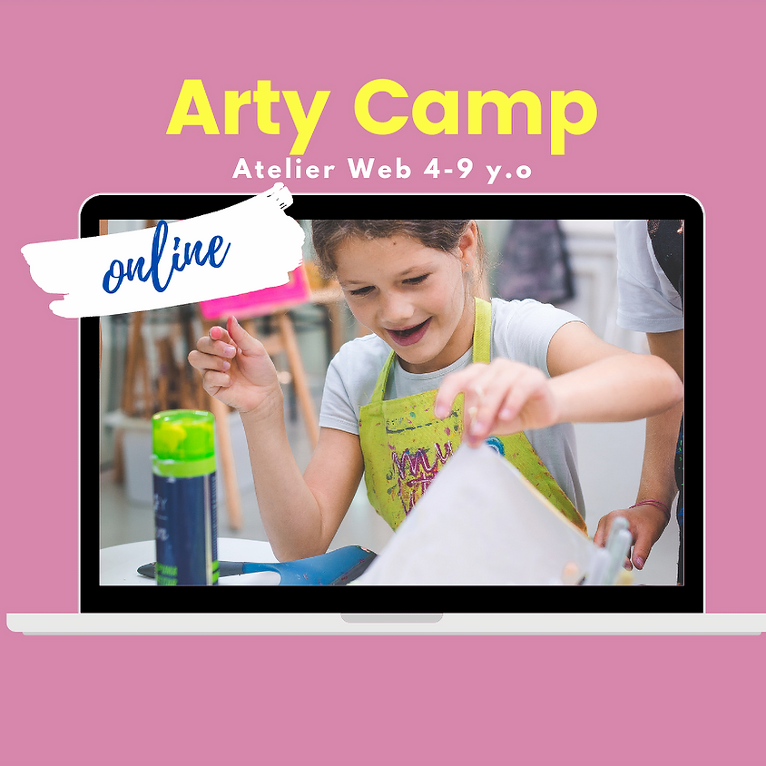 Arty Camp Online (4-9 años)