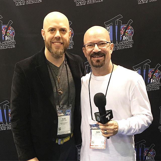 With Dan Shinder after my _drumtalktv in