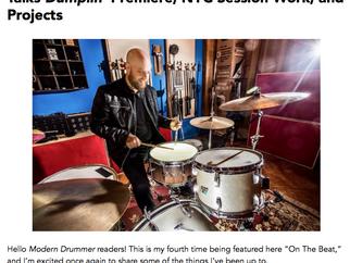Downbeat Magazine, Modern Drummer