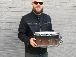 Hendrix Drums Endorsement!