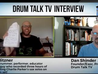Drum Talk TV Interview!