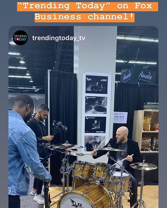 _hendrixdrums _thenammshow #drums #drumm