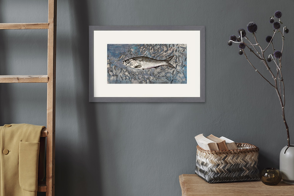 Alewife Limited Edition print by Ericka O'Rourke