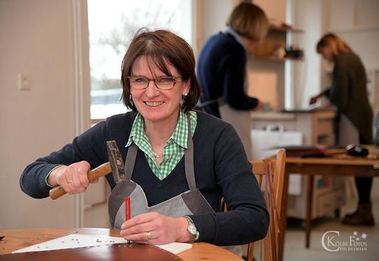 Astrid Jansen Leder Taschen Workshop