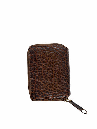 PAULINE mini Wallet, chestnut