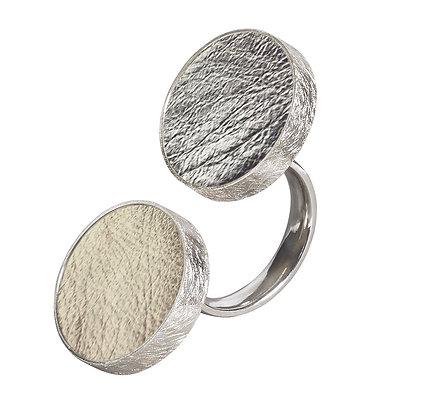 Doppel Punkt Ring