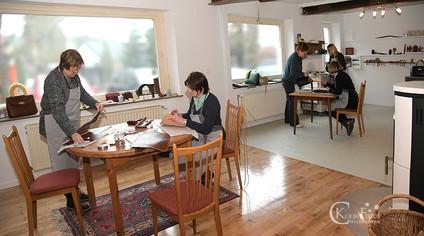 Astrid Jansen Leder Taschen Workshoper Atelier