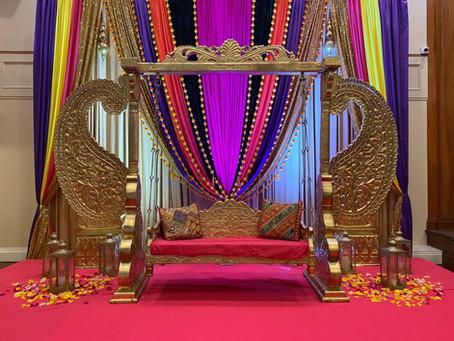 Anjli & Pradeep: The Mehndi Ceremony