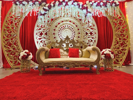 An Inside Look: At Home Wedding Decor!