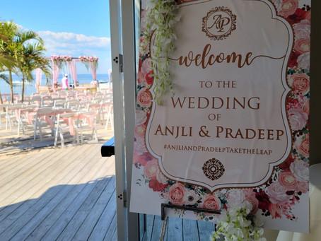 An Outdoor Wedding Oasis!