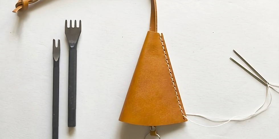 【残2席】11月開催「手縫いで作る革製のキーケース」ワークショップ
