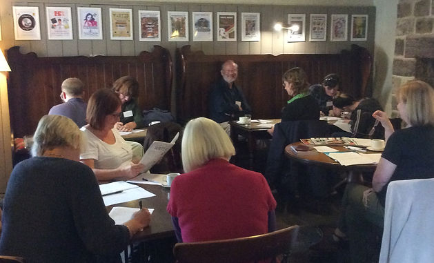 Creative Writing workshop 5th October 20