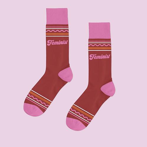 Issa Movement— Feminism High Socks