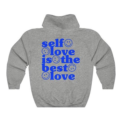 Self Love is ESSENTIAL Hoodie BLUE