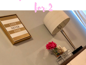 Client Project- Glam, Girly & Functional