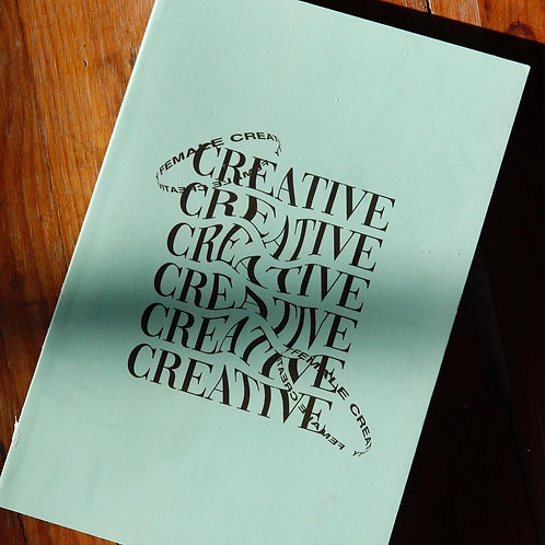 Female Creative Notebook