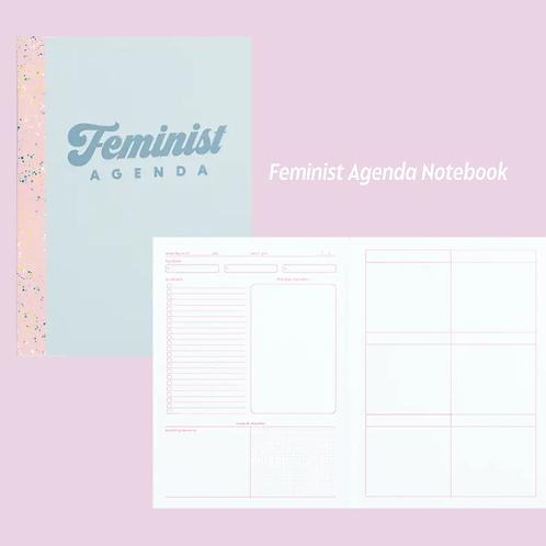 My Feminist Agenda planner Notebook