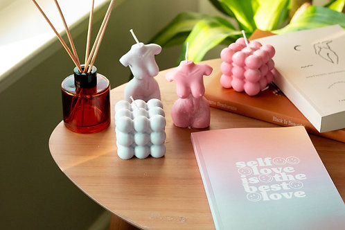 The Block is Hott | Bubble Candle
