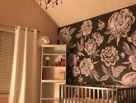 Blush, Gold & Girly Nursery Reveal