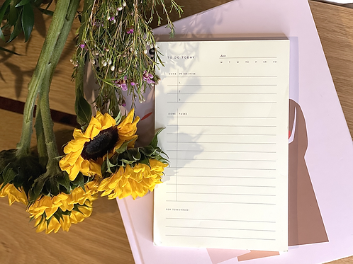 Staying Motivated | Small To-Do Notepad