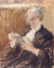 Noufflard, Berthe - Vernon Lee with a Gr