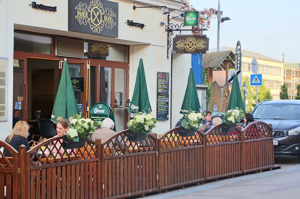 Indisches Restaurant mit Schanigarten in Wien Umgebung