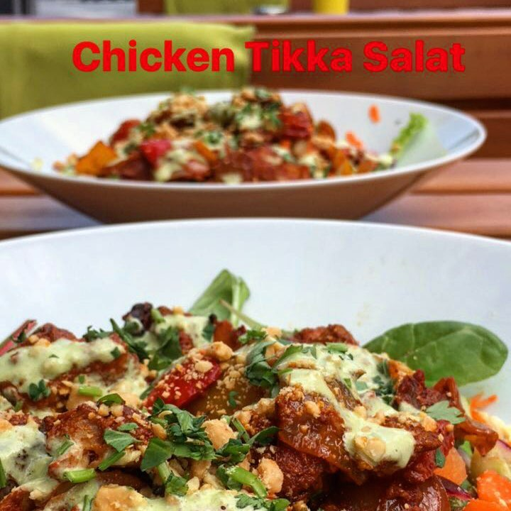Chicken Tikka Salat