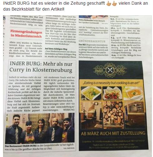 Das indische Restaurant in Wien Umgebung (Niederösterreich)
