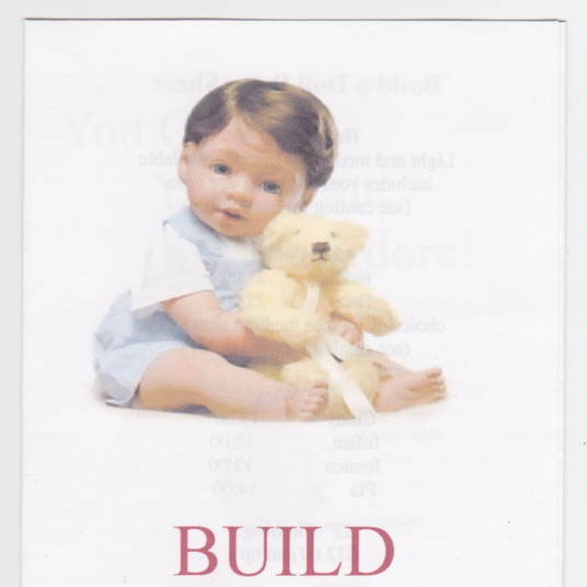 Build a Doll Brochure