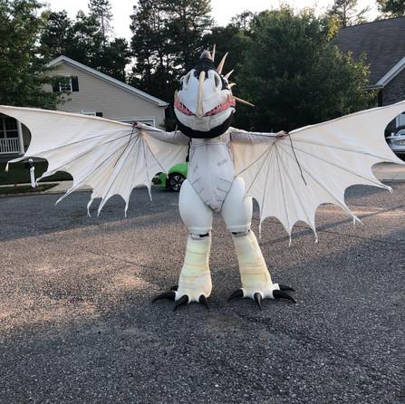 Stormfly Suit Test Fit