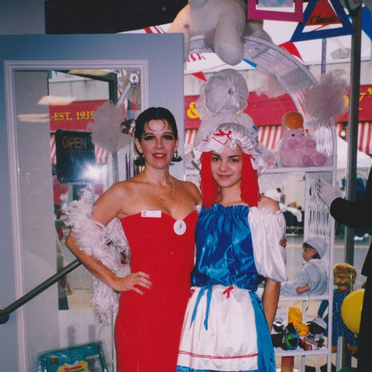 Betty Boop and Raggedy Ann
