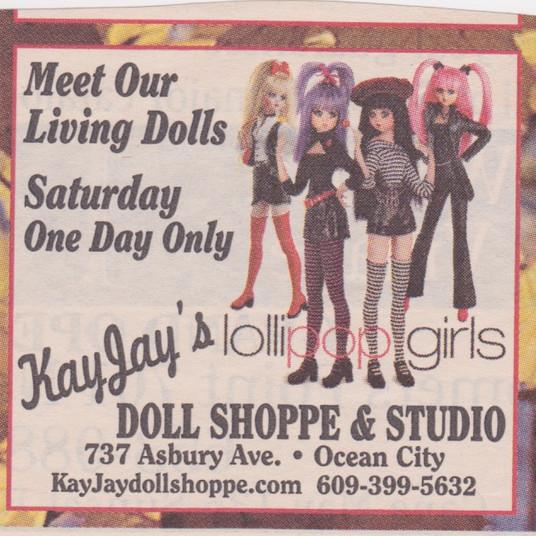 Meet our Living Dolls