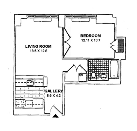 Floor Plan - Interior Dimensions