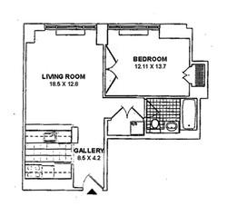 Floor Plan - Interior Dimensions