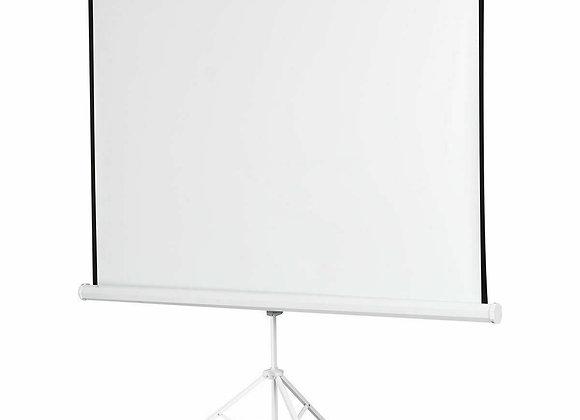 "100"" 70 x 70 Portable Square Tripod Screen Projection Projector"