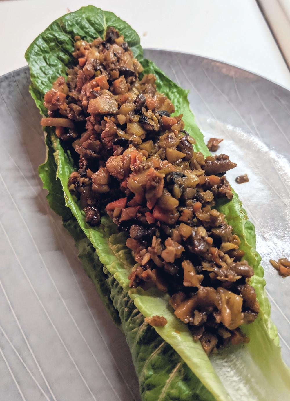 Vegan Lettuce Wrap Recipe