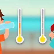 熱中症に冷たいと温かい飲み物はどっちがいい?