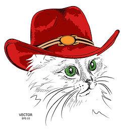 cat-cowboy-hat-vector-cat-cowboy-hat-vec
