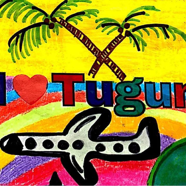 51x204 All I love Tugun stickers.png
