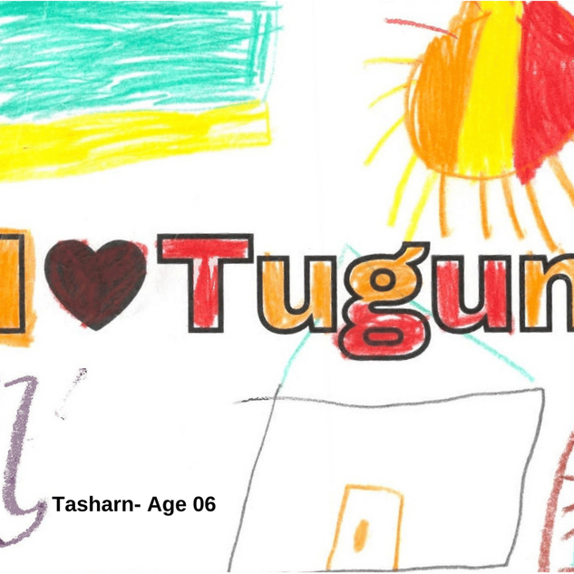 51x204 All I love Tugun stickers (13).pn