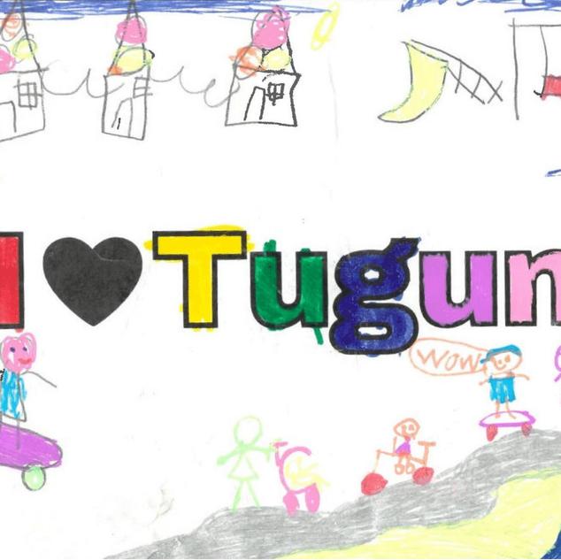 51x204 All I love Tugun stickers (2).png