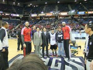NBAサクラメント・キングスを訪問